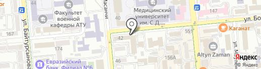 Волковгеология на карте Алматы