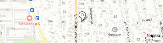 Адиля на карте Алматы