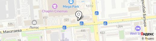 Global Lex на карте Алматы