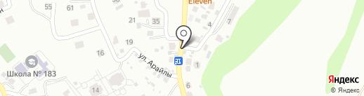 Velosoft, ТОО на карте Алматы