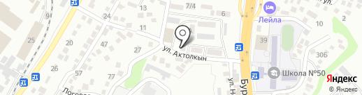 Entasis Company, ТОО на карте Алматы