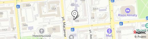 Orfan Pharmaceuticals на карте Алматы