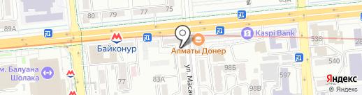 GrandAsia Import, ТОО на карте Алматы