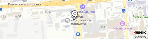 СитиПринт на карте Алматы
