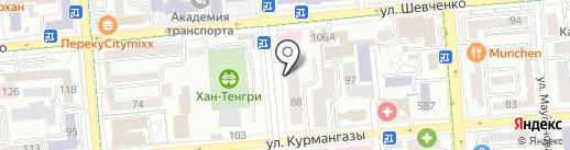 EGOIST на карте Алматы