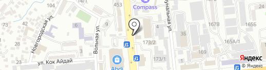 Промтехника на карте Алматы