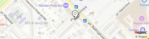 FreshMob на карте Алматы