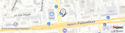 Вираж Сервис на карте Алматы