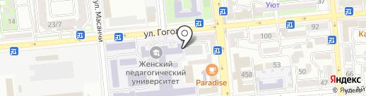 АККУ на карте Алматы