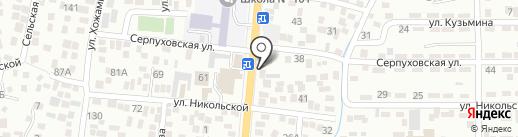 Спектр на карте Алматы