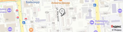 Стильняшка на карте Алматы