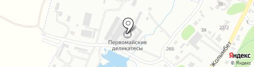 Банкомат, Цеснабанк на карте Первомайского