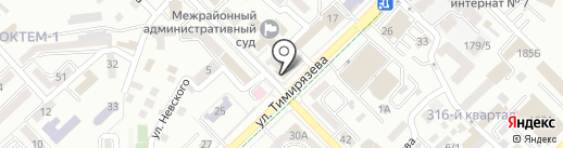 Bon appetit на карте Алматы