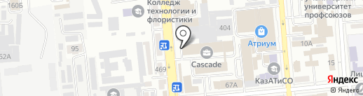 Бизнес-центр на Сейфуллина, ТОО на карте Алматы