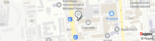 ADC Agency, ТОО на карте Алматы