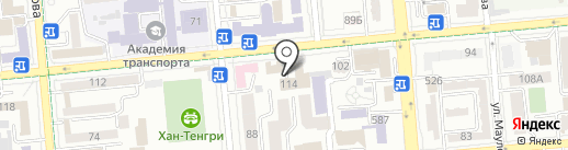 Almaty Design School на карте Алматы
