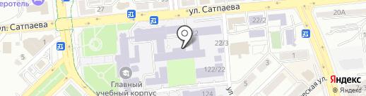 Горно-металлургический институт им. О.А. Байконурова на карте Алматы