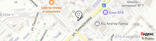 DAU-A на карте Алматы