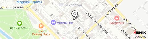Rentautokz на карте Алматы