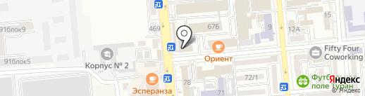 Алматинский финансово-правовой и технологический колледж на карте Алматы