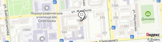 Атон Секьюритиз Казахстан на карте Алматы