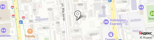 Жемчуг на карте Алматы