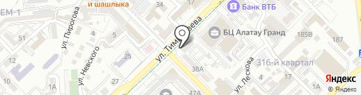 Al-madat, ТОО на карте Алматы