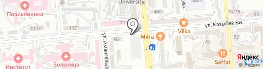 Europrint на карте Алматы