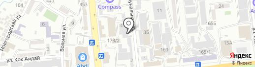 CopyLider на карте Алматы
