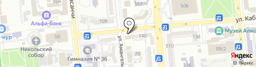 MuleApp, ТОО на карте Алматы