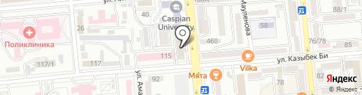 Варити на карте Алматы