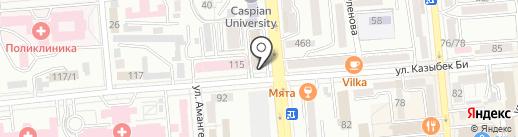 Банкомат, ForteBank на карте Алматы
