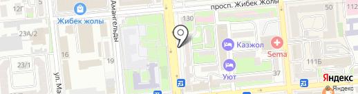 HTC на карте Алматы
