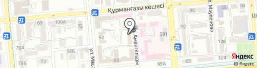 Центр по чрезвычайным ситуациям и снижению риска стихийных бедствий на карте Алматы
