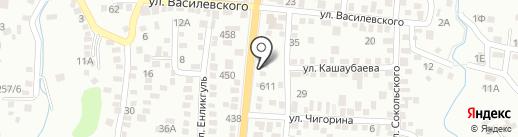 VIVA Sushi на карте Алматы