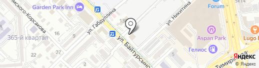 НИПИнефтегаз на карте Алматы