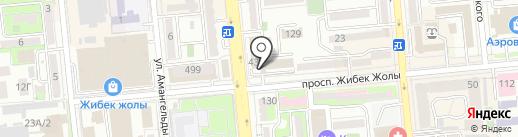 Служба экономических расследований при Департаменте государственных доходов по г. Алматы на карте Алматы