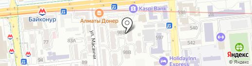 2plus2 на карте Алматы