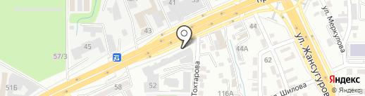 Сервисный центр на карте Алматы