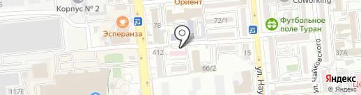 Городской центр репродукции человека на карте Алматы