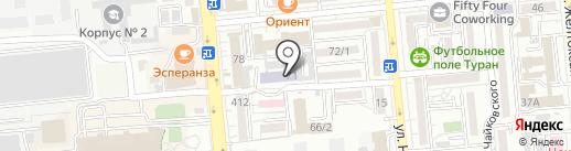Агентство Барс на карте Алматы