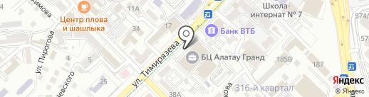Шуко Казахстан, ТОО на карте Алматы