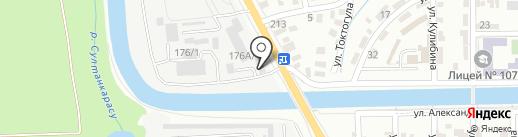 Фонд Безопасности дорожного движения Республики Казахстан на карте Алматы