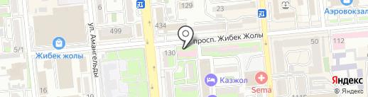 Городская поликлиника №30 на карте Алматы