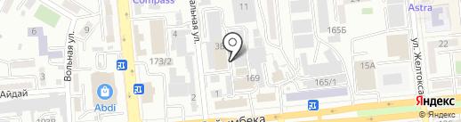 DeutscheKlimat.KAZ на карте Алматы