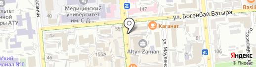 DA BOUTIQUE на карте Алматы