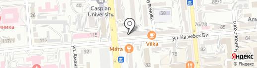 Stock на карте Алматы