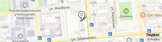 SUSHI KING на карте Алматы