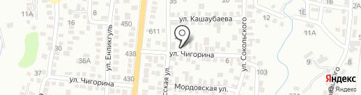 Кинологический центр подготовки специальных собак на карте Алматы