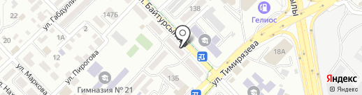 Chinurka на карте Алматы